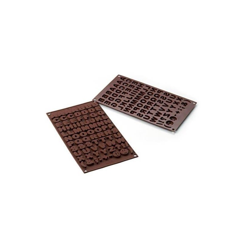 Stampo in silicone SF169 Choco ABC - Silikomart -