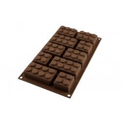 Stampo in silicone Choco Block - Silikomart -