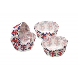 80 extra mini pirottini Union Flag - Kitchencraft -