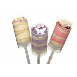 Set di 6 PUSH POP rotondi - Kitchencraft -