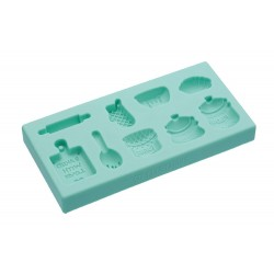 Stampo per pdz in silicone home baking - Kitchencraft -