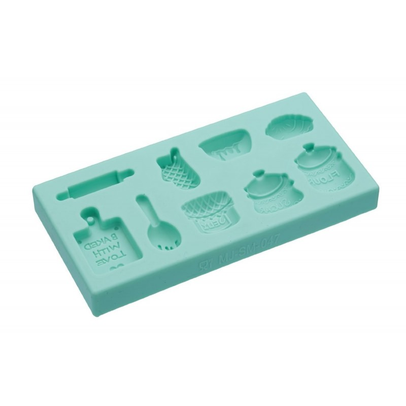 "Stampo per pdz in silicone ""home baking"""