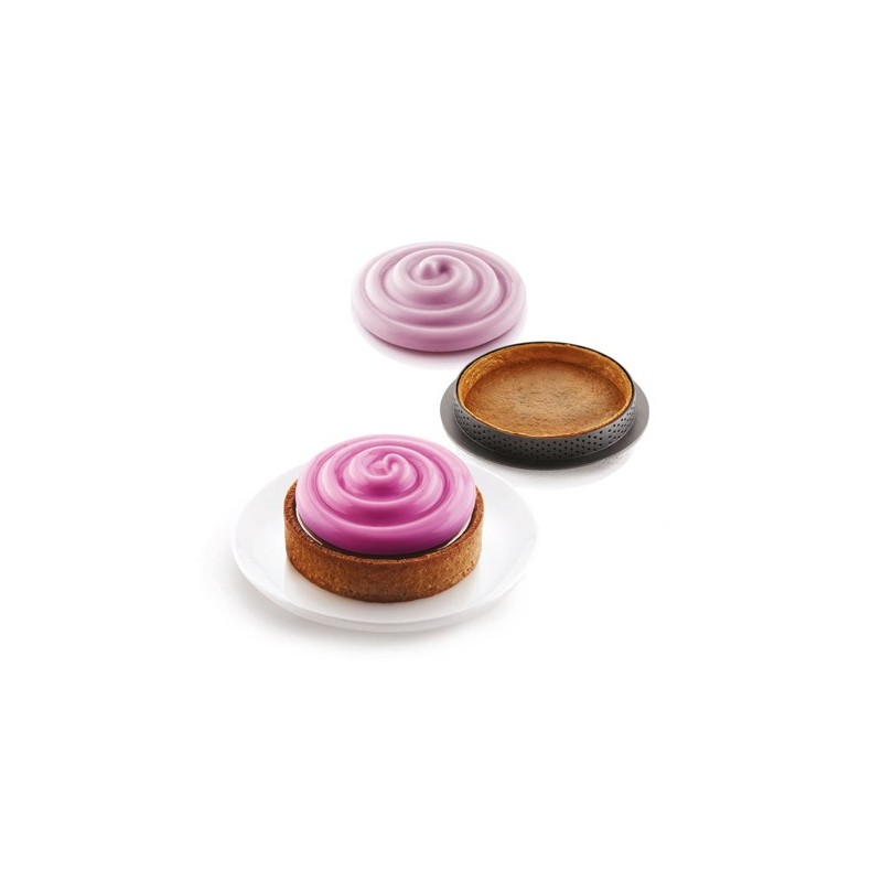 Kit Mini Tarte Twist - Silikomart -