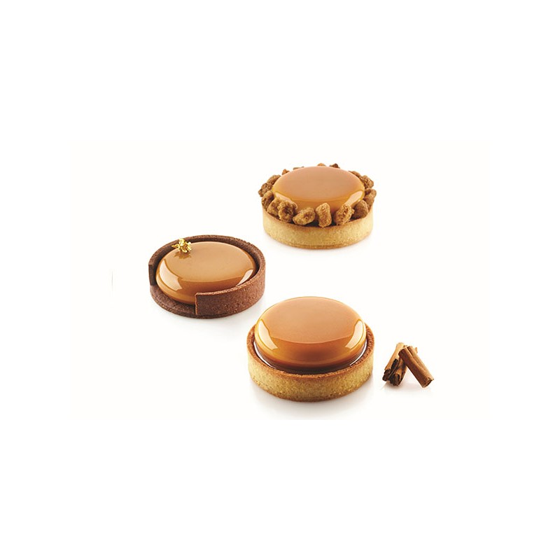 Crostate - Kit Tarte Ring Ø80 - Silikomart -