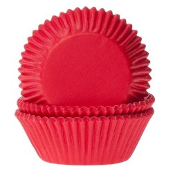 50 Pirottini Red Velvet (rosso) - House of Marie -